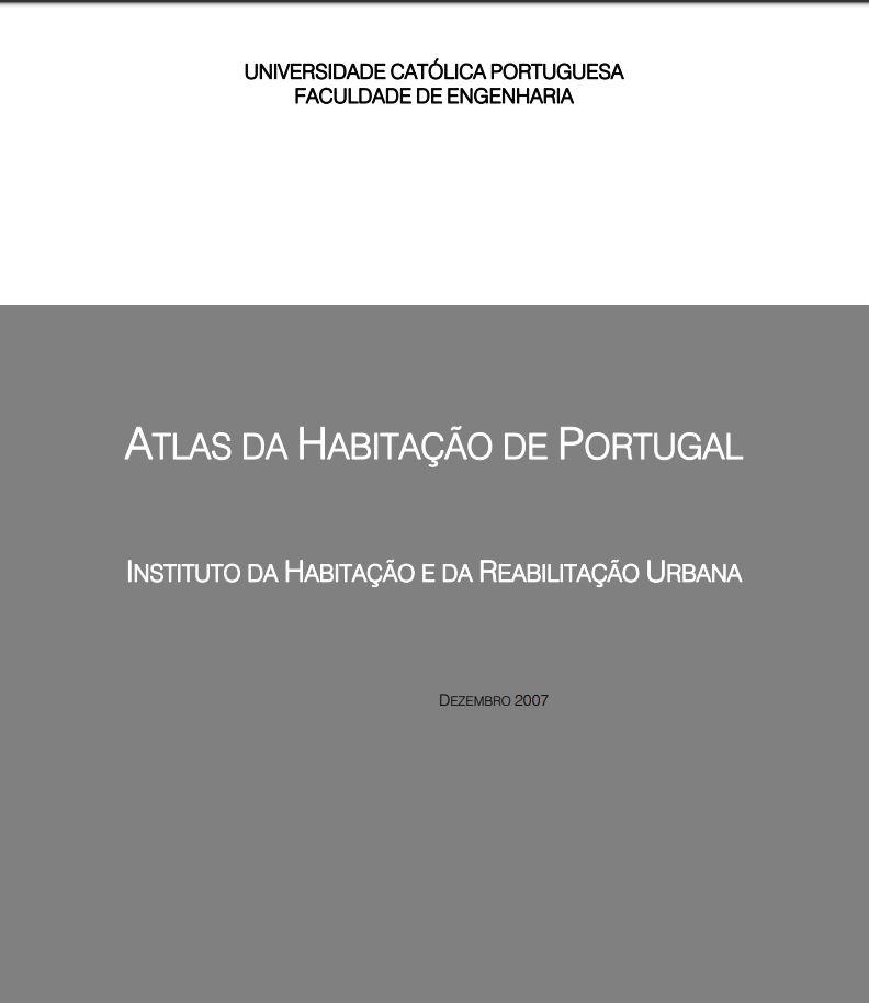 Atlas da Habitação em Portugal